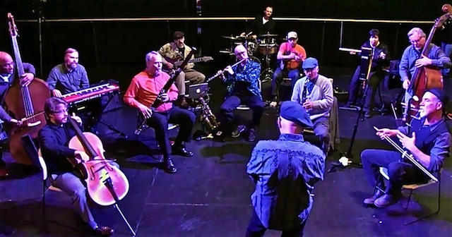 THE FLUX CREW CONDUCTION ENSEMBLE : LIVE ON-LINE : 8/1/17