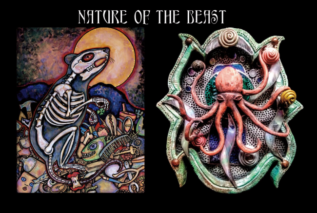Nature of the Beast: Lisa Luree & Kim Anderson Art Opening: December 14